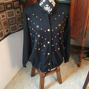 Jackets & Blazers - Bedazzled jacket